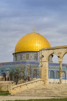 Dome of the Rock, Temple Mount, Old City, UNESCO World Heritage Site, Jerusalem, Israel, Middle East - RHPLF11860