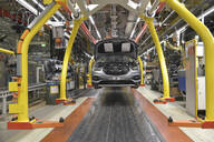 Modern automatized car production in a factory - LY00926