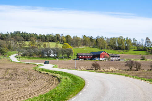 View of country road - JOHF01739