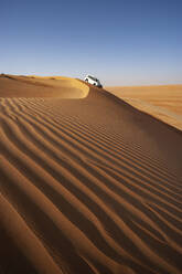 Sultanate Of Oman, Wahiba Sands, Dune bashing in a SUV - WWF05284