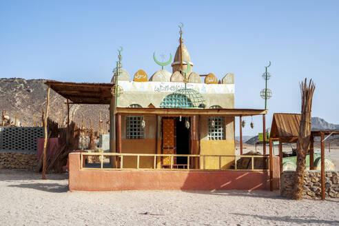 Egypt, building on Eastern Desert - PUF01718