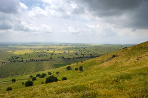 View from Mount Shifon (Har Shifon), Central Golan Heights - CAVF63622