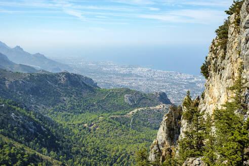 View from Buffavento Castle (Buffavento Kalesi), Cyprus - CAVF64669