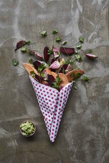 Vegetable wedges - JOHF02887
