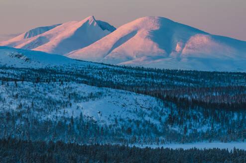 Mountains at sunset - JOHF04120