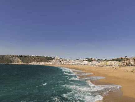 View of the beach, Nazare, Portugal - AHSF00929