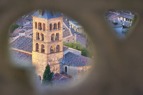 Segovia, view from Cathedral to bell tower, Spain - DVGF00064