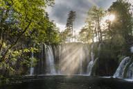 Waterfalls, Plitvice National Park, UNESCO World Heritage Site, Croatia, Europe - RHPLF12452