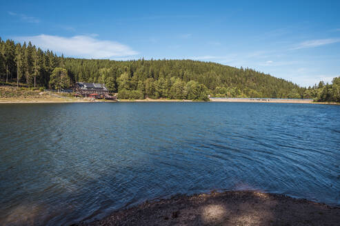 Remote holiday home at Lake Luetsche dam, Oberhof, Thuringia, Germany - FRF00882