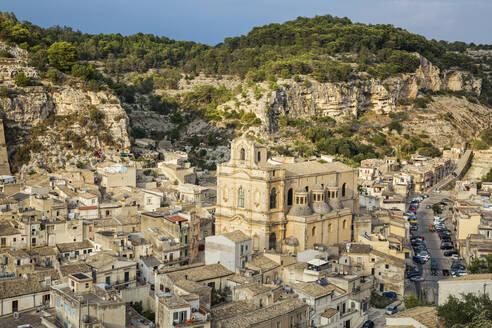 Chiesa Santa Maria La Nova, View of Scicli, Province of Ragusa, Sicily - MAMF00939