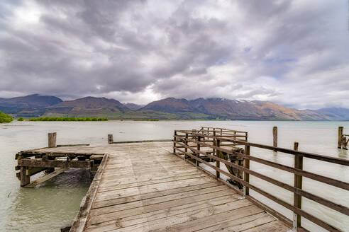Pier, Glenorchy, South Island, New Zealand - SMAF01644