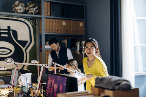 Colleagues working in architect's office - SODF00213