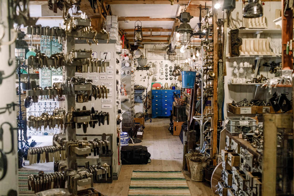 various equipment at illuminated hardware store MASF14014 - The Key To Profitability in Business
