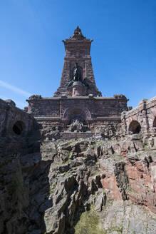 Kyffhaeuser Monument, Barbarossa monument, Thuringia, Germany - RUN03427