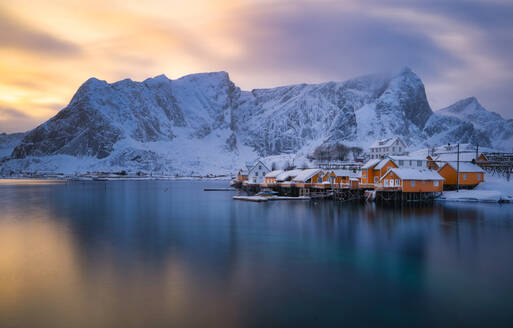 Lofoten colors popping out right after the snow storm - CAVF68692