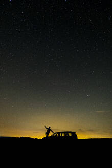 Photograph of the milky way on a summer night - CAVF68863