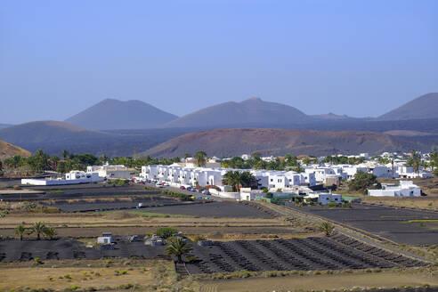 Dorf Yaiza, Region La Geria, Lanzarote, Kanaren, Spanien - SIEF09301