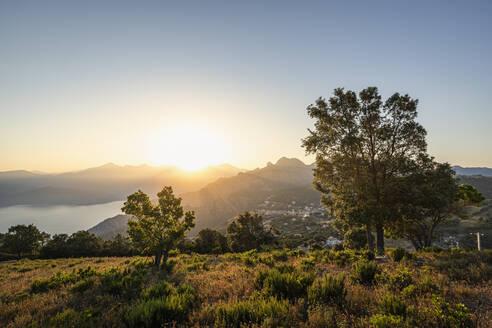 View from Belvedere de Saliccio, Piana, Corse-du-Sud, Corsica, France - MSUF00020