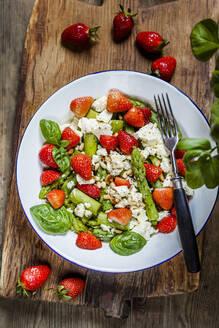 Green mixed salad with green asparagus - SBDF04122
