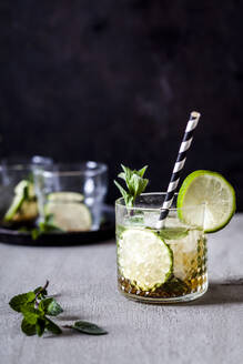 Mojito with brown sugar, lime and mint - SBDF04175