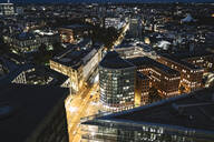 Cityscape at night, Berlin, Germany - AHSF01575