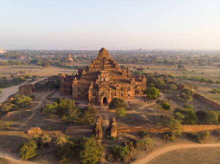 Aerial view of Bagan temples in Myanmar. - AAEF05766
