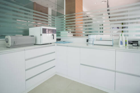 Interior of modern dental clinic, Spain - DLTSF00343