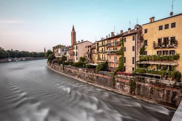 Italy, Veneto, Verona and Adige river - DAWF01061