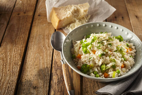 Italian Risi e bisi rice with peas - DREF00018