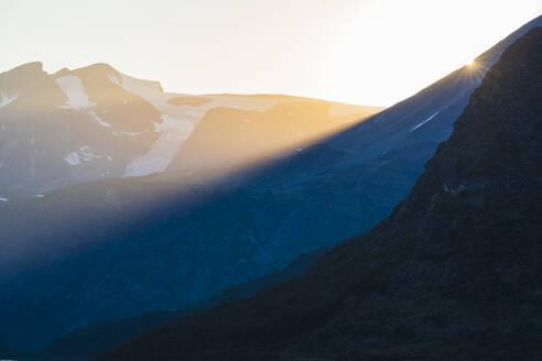 Sunset at mountains - JOHF06374