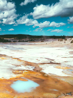Yellowstone National Park Landscape Geysers, Hotsprings USA, Wyoming - CAVF73821