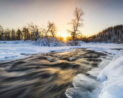 River in winter - JOHF07799