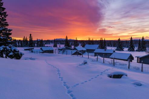 Sunset in winter - JOHF07826