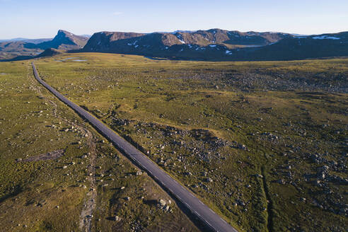 View of mountain road - JOHF07931