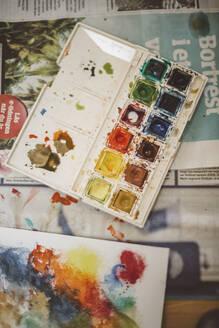 Watercolor paints - JOHF08791