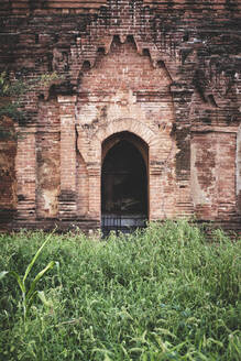 Entrance to a buddhist temple in Bagan, Myanmar - CAVF77168
