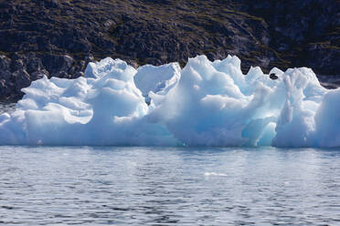 Melting polar ice on sunny Atlantic Ocean Greenland - HOXF05790