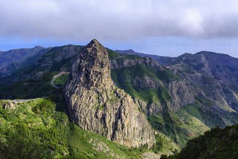 Spain, Province of Santa Cruz de Tenerife, Roque de Agando rock formation - SIEF09666