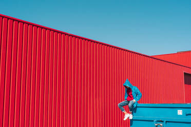 sevilla, Spain, container, urban, industrial, outdoor, minimal, youth, freedom, fun, color - ERRF03138