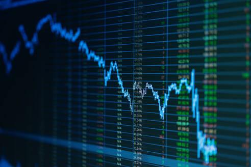 Full Frame Shot Of Stock Market Data - EYF03959