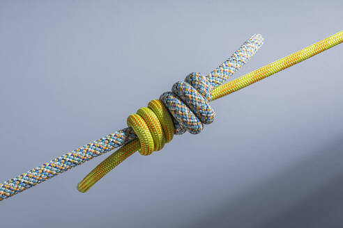 Two ropes tied together with triple sailor's knot - MSUF00282