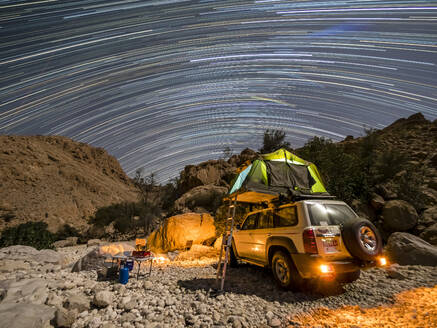 Camping out under the stars in the Sultanate of Oman, Middle East - RHPLF15190