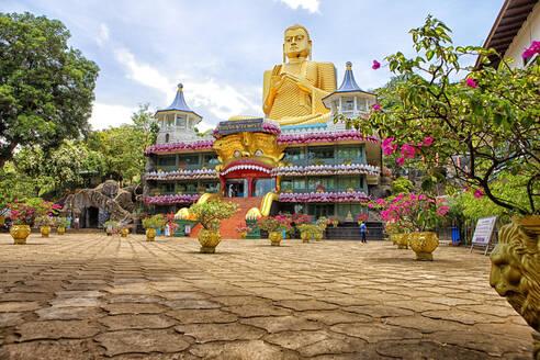 Sri Lanka, North Central Province, Dambulla Cave Temple - DSGF02184