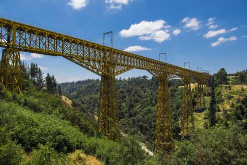 Puente Malleco, a railway bridge from 1890, Collipulli, Araucania - CAVF86111