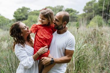 Happy family enjoying at countryside - EGAF00370