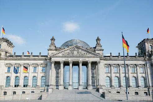 Germany, Berlin, Facade of Reichstag - ZMF00494