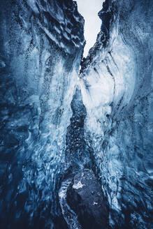 Beautiful crystal blue ice - ADSF02105