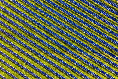 Aerial view ofsolar power station - WDF06133