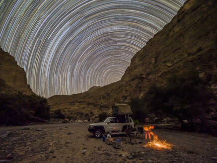 Camping out under the stars in the Sultanate of Oman, Middle East - RHPLF16332