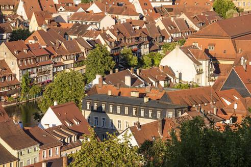 Deutschland, Bayern, Franken, Bamberg, Stadtansicht, Altstadt, Klein Venedig - WDF06152